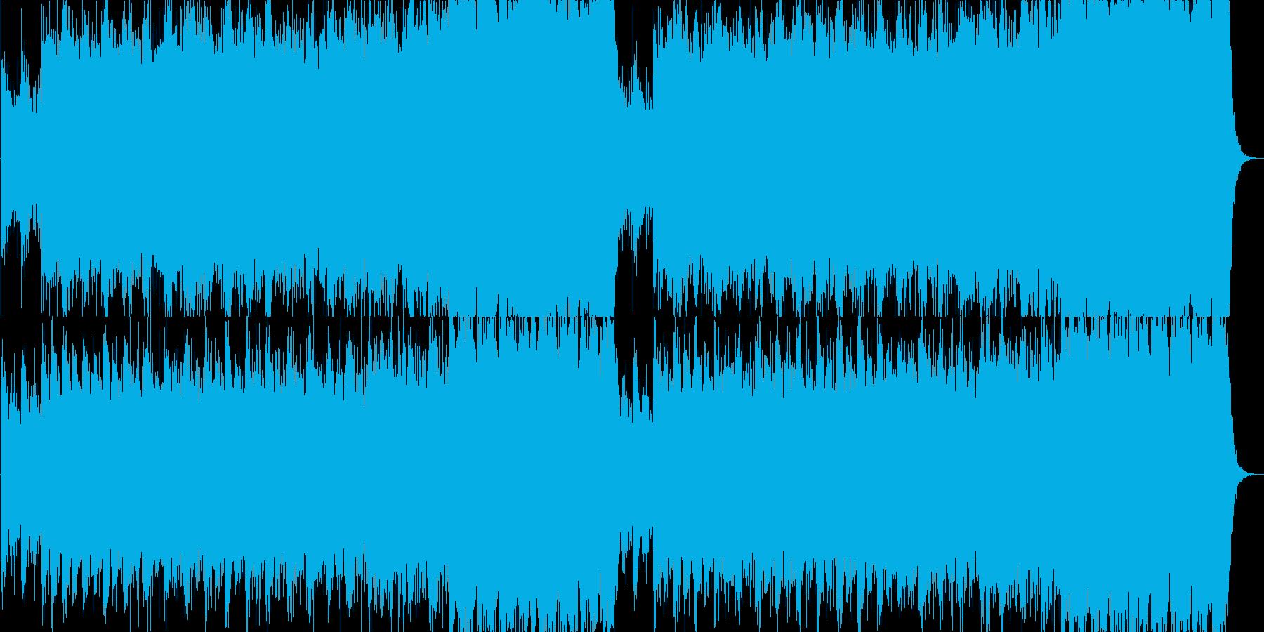 美しい日本の四季のBGM用の和風曲の再生済みの波形