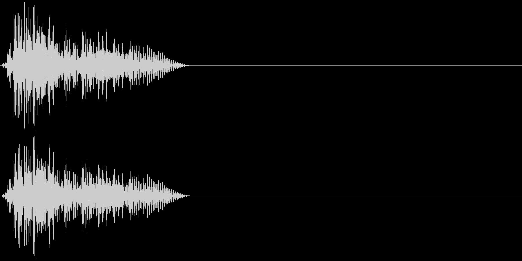 アコースティックギターの音2の未再生の波形