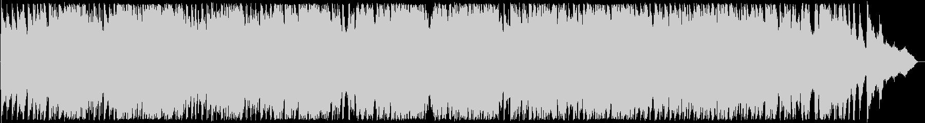 迫力ある弦楽器とピアノの演奏の未再生の波形