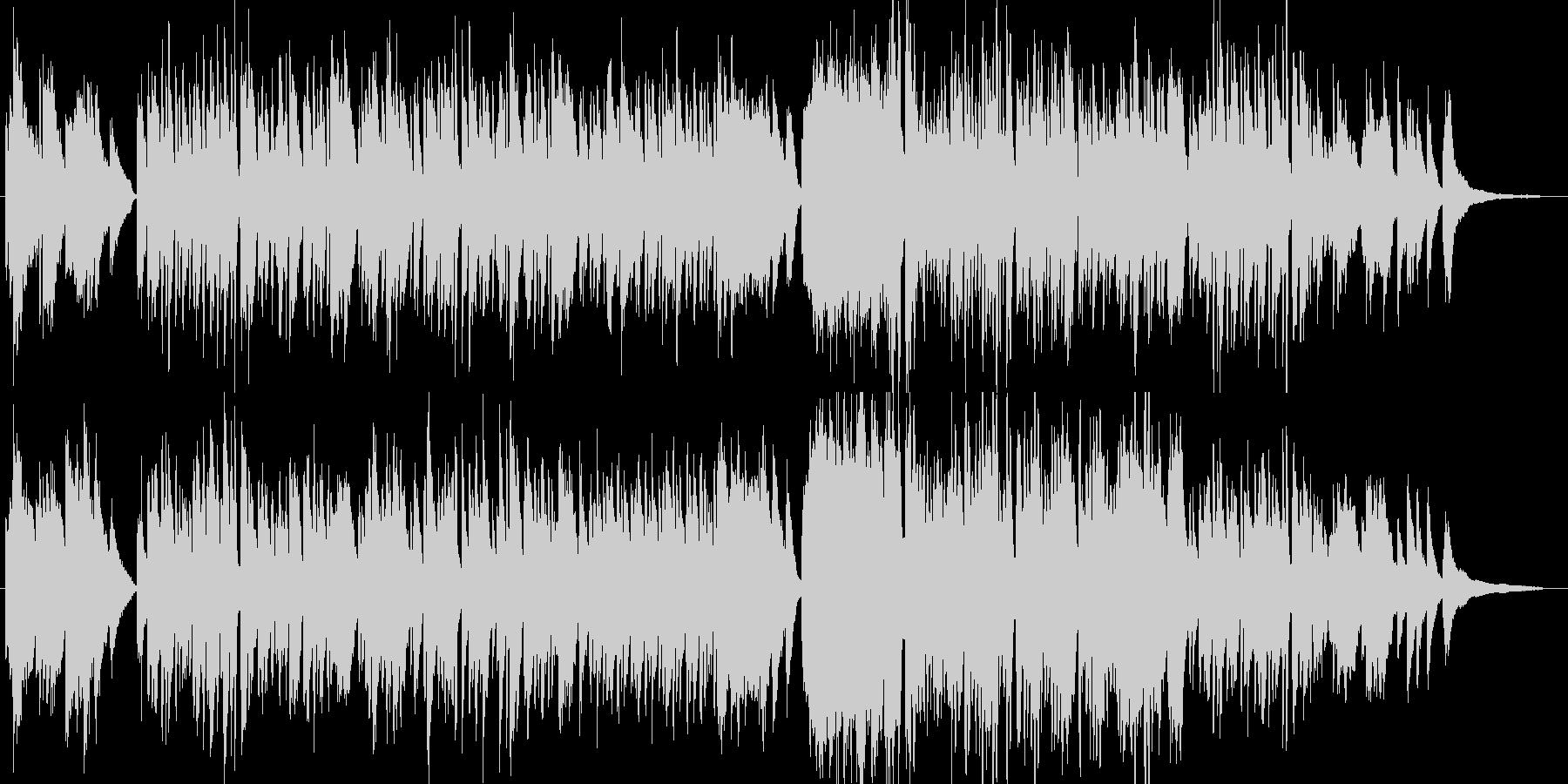 オシャレで上品な和風クラシック・伴奏版の未再生の波形