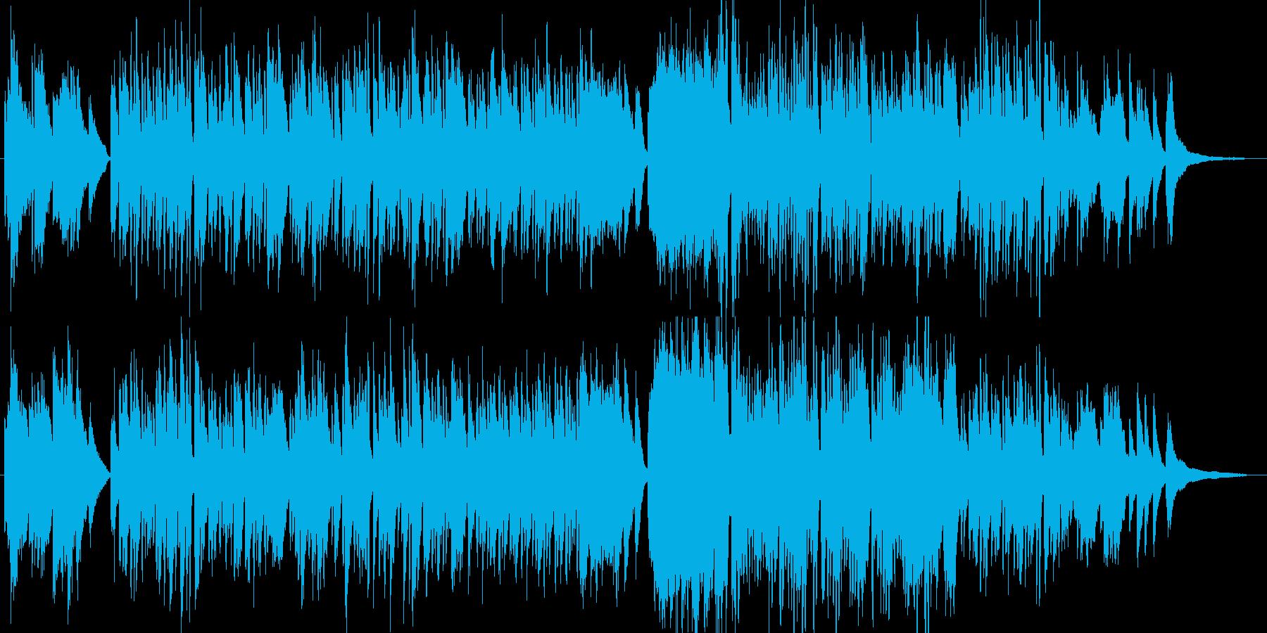 オシャレで上品な和風クラシック・伴奏版の再生済みの波形