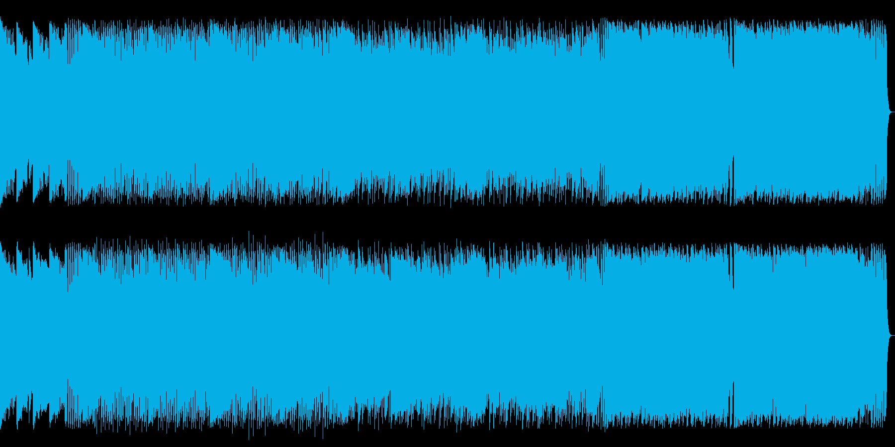 爽やかで柔らかい感じの曲です。の再生済みの波形