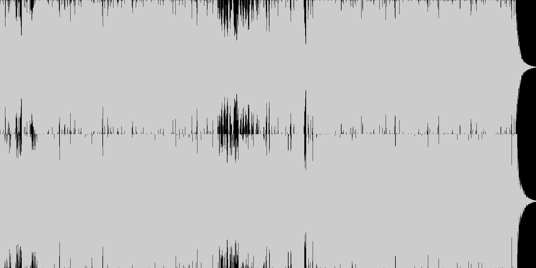 映画・ゲーム用バトルBGM17の未再生の波形