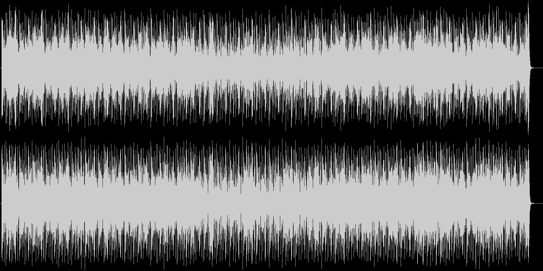 躍動感ある神秘的なシンセテクノサウンドの未再生の波形