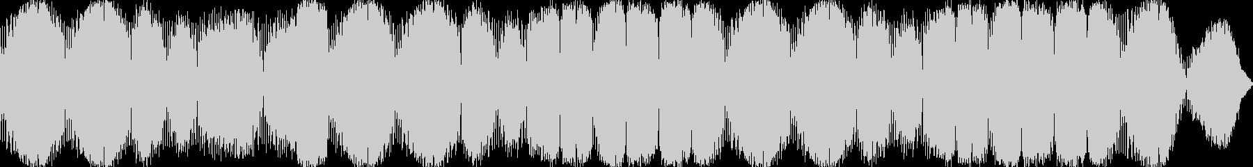 癒されるAmbient Musicの未再生の波形