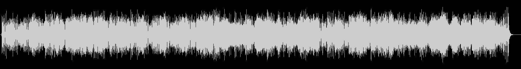 マリンバを基調とした軽快なメロディの未再生の波形