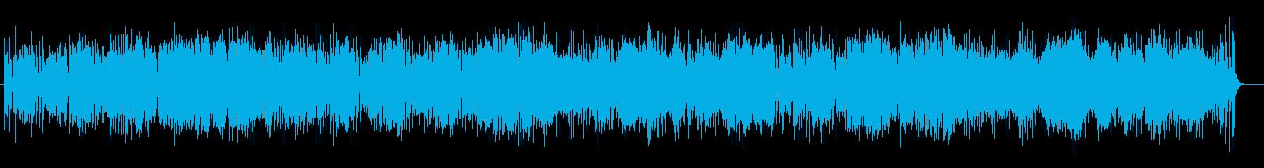 マリンバを基調とした軽快なメロディの再生済みの波形