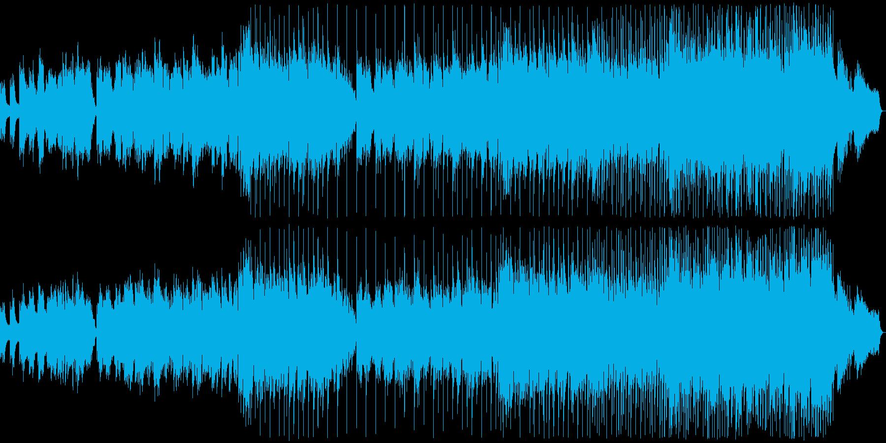 物悲しい雰囲気のバラード11の再生済みの波形