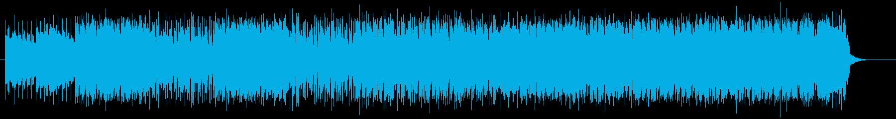 クールでファンタジックなエレキサウンドの再生済みの波形