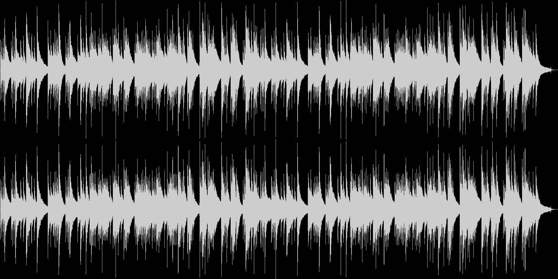 切ないギター・シンセサウンドの未再生の波形
