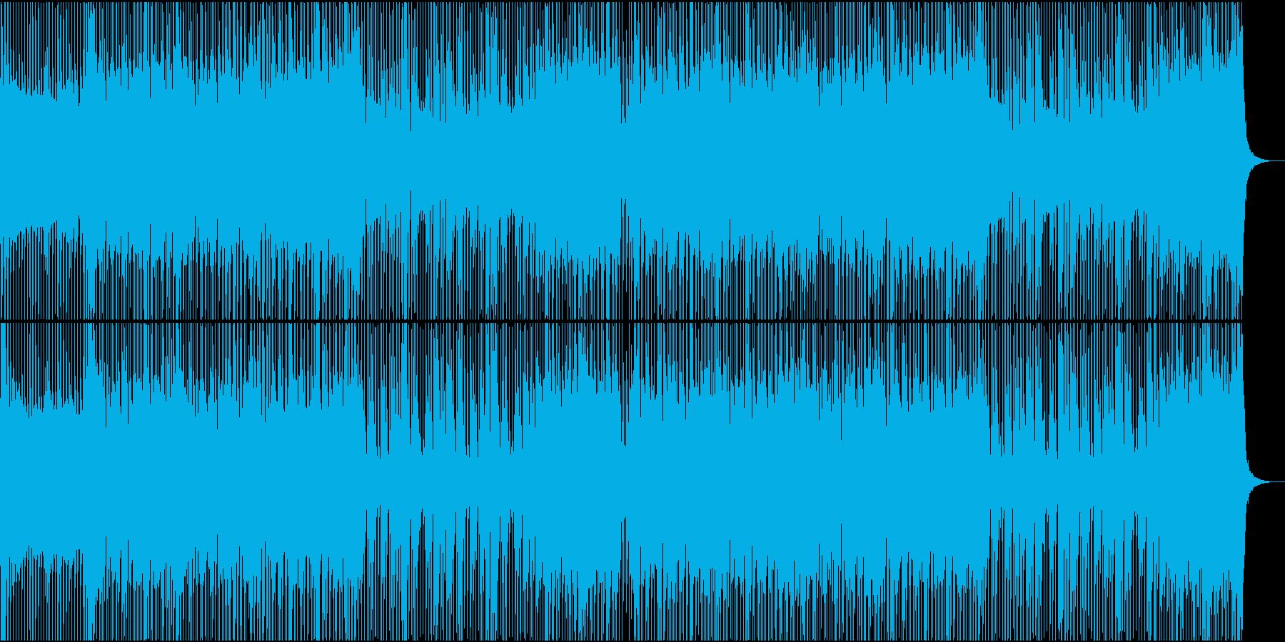 ロック/激しい/重い/バンド/シンセ抜きの再生済みの波形