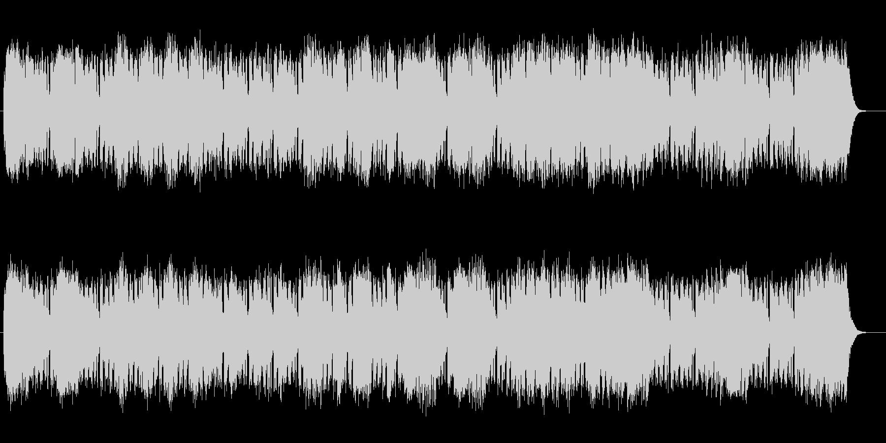 メロディアスで緩やかなシンセサウンドの未再生の波形