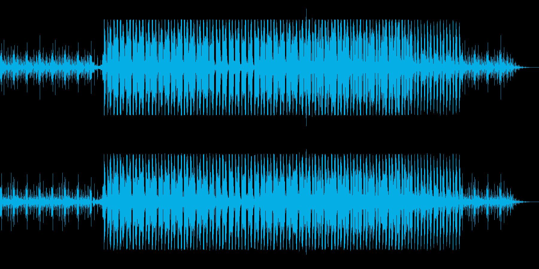 クールなエレクトロニカの再生済みの波形