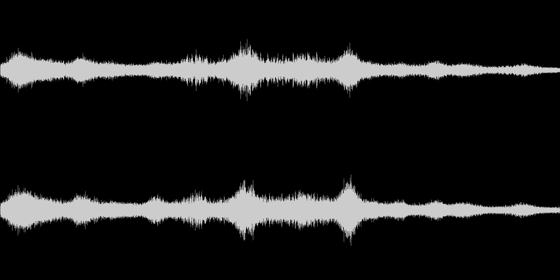 異次元空間(環境音)の未再生の波形