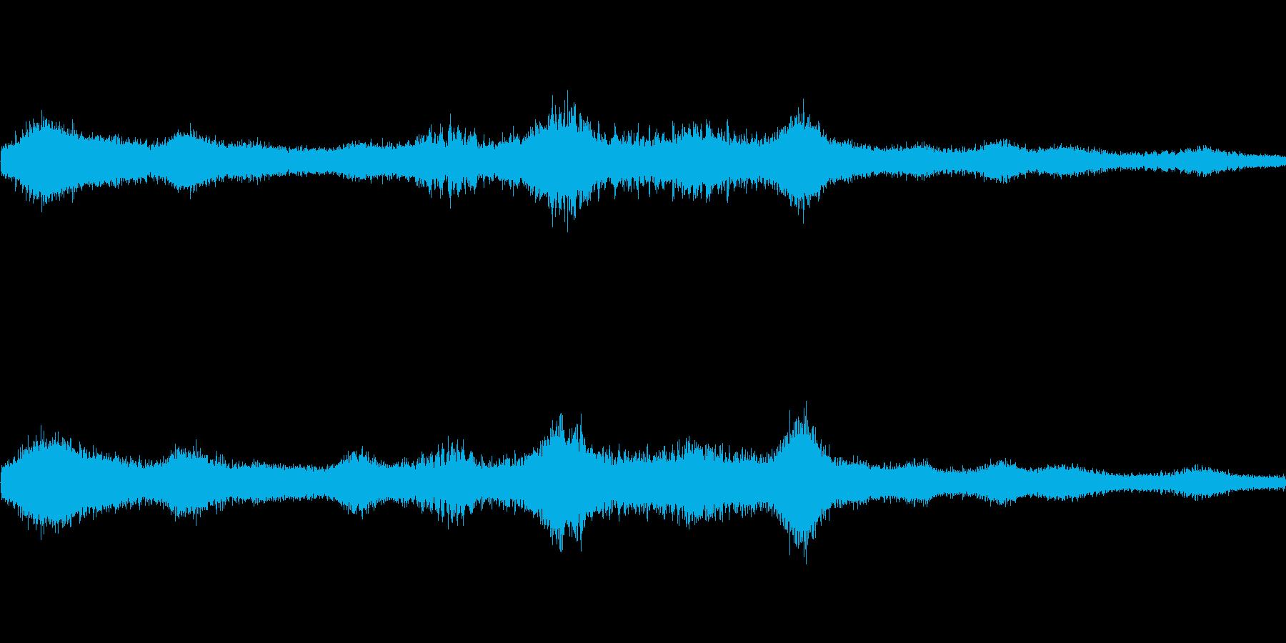 異次元空間(環境音)の再生済みの波形