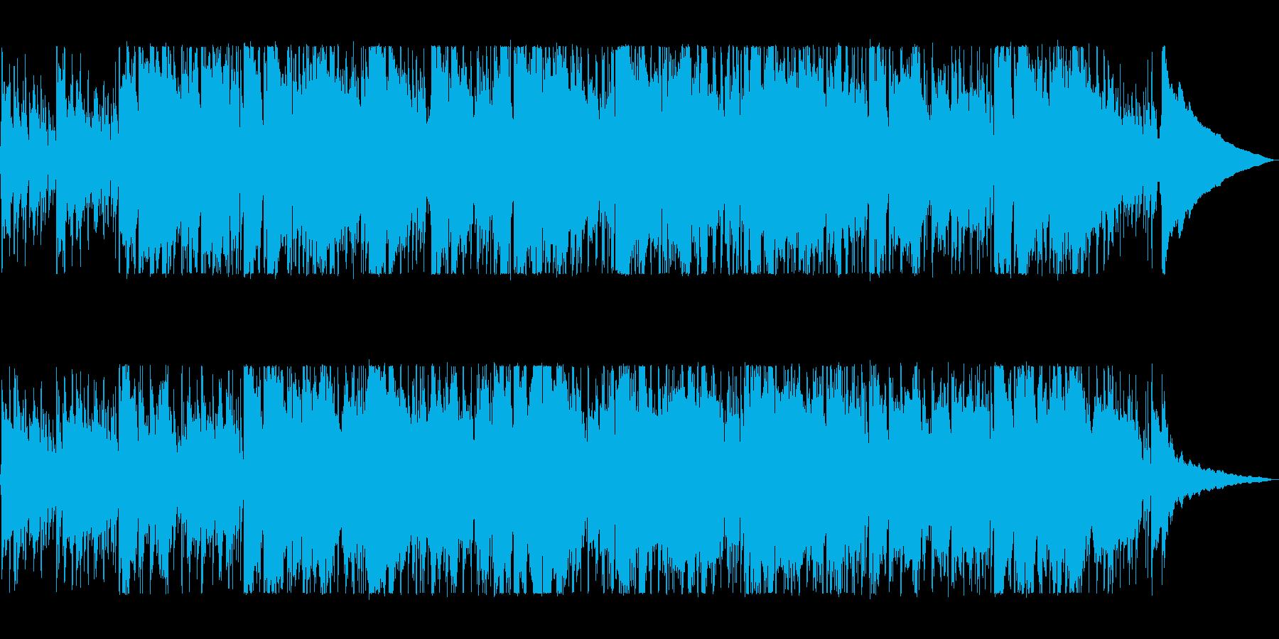 バイオリンのノスタルジックなバラードの再生済みの波形
