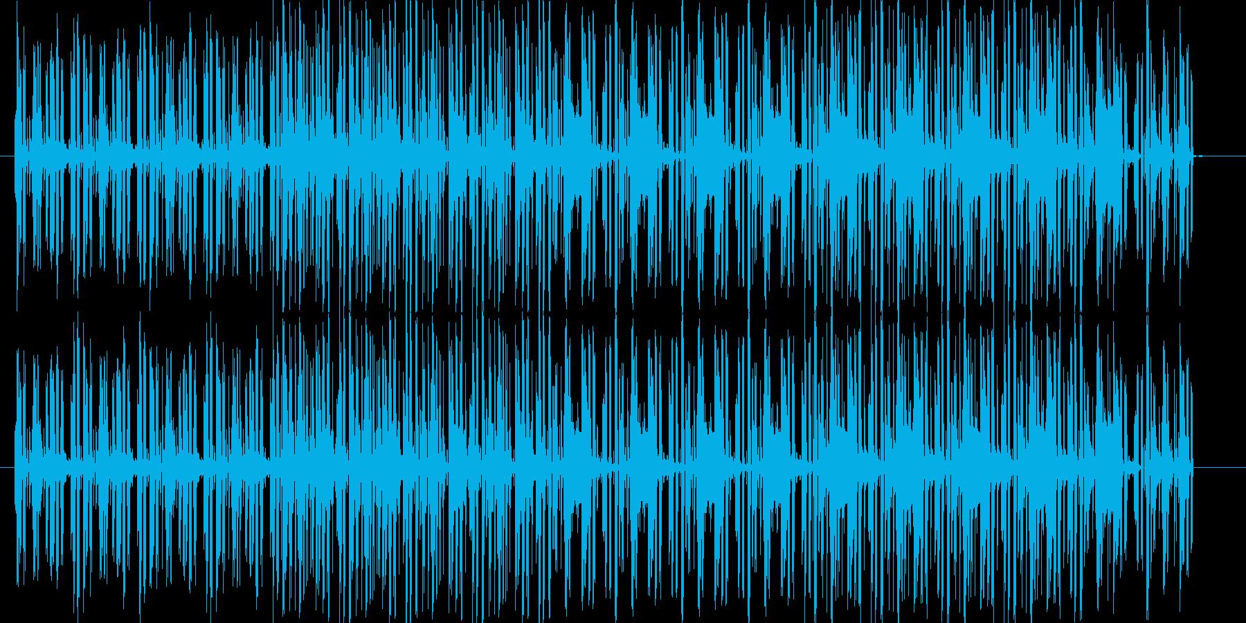 様々な用途に使えるBGM。ノリの良いグ…の再生済みの波形