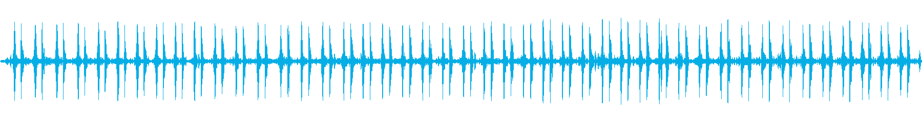 【特殊音】心臓の音の再生済みの波形
