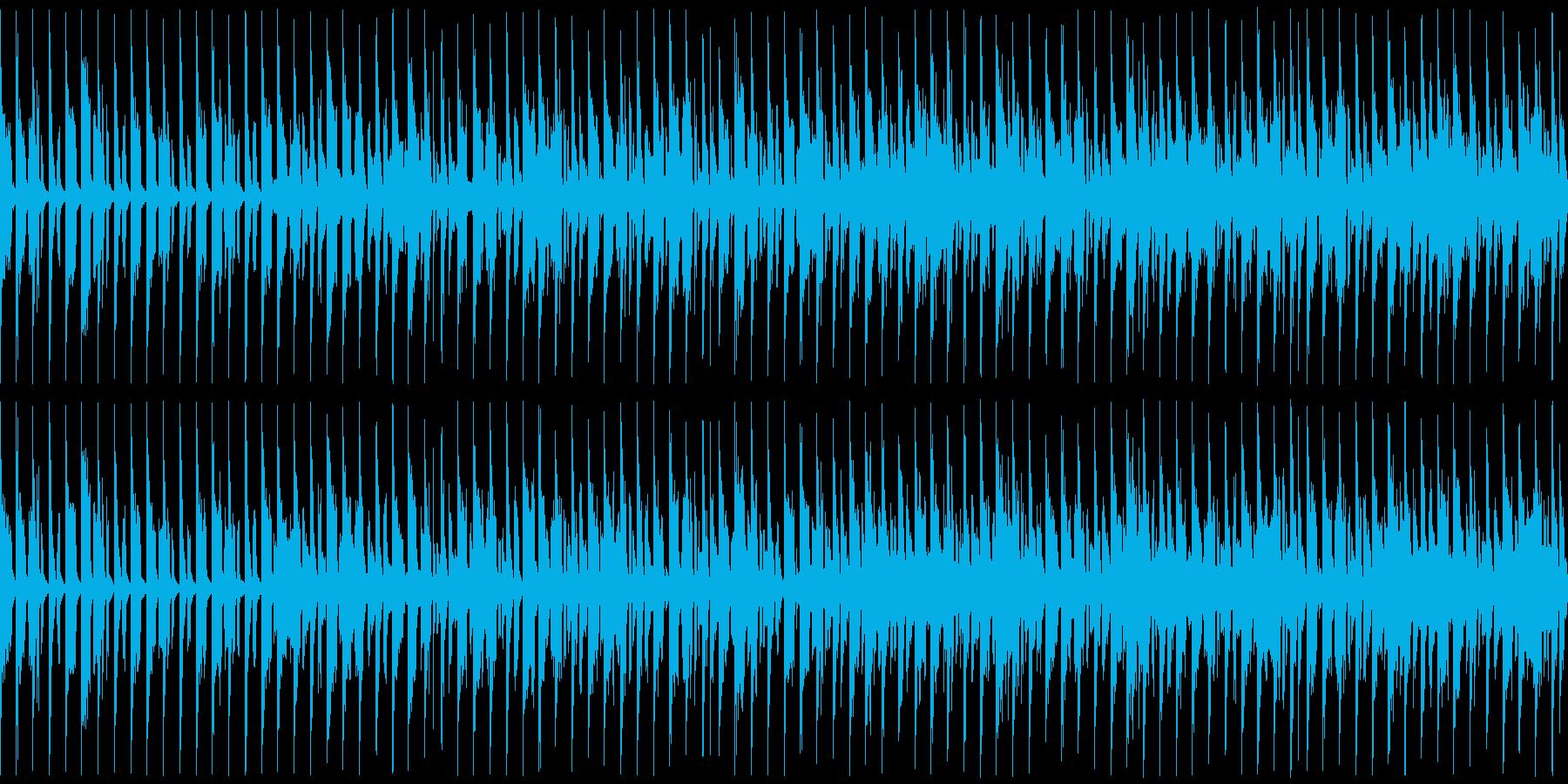 【ループ用】トランス風シンセサウンドの再生済みの波形