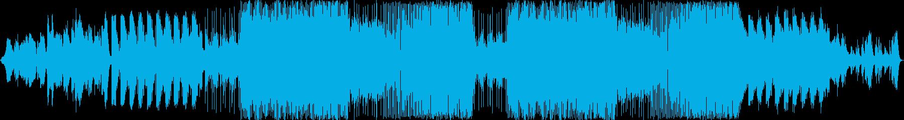 アンビエントなSFXに続いて、不可思議…の再生済みの波形