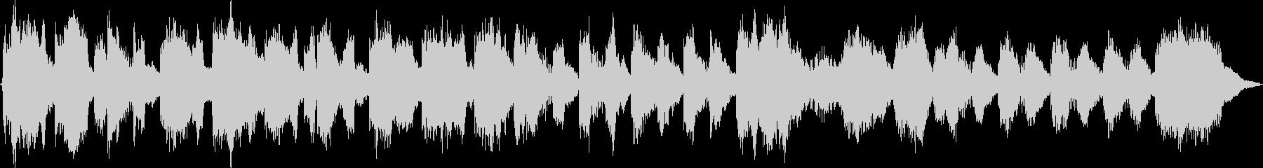 ポップなジングル(マーチ風)の未再生の波形