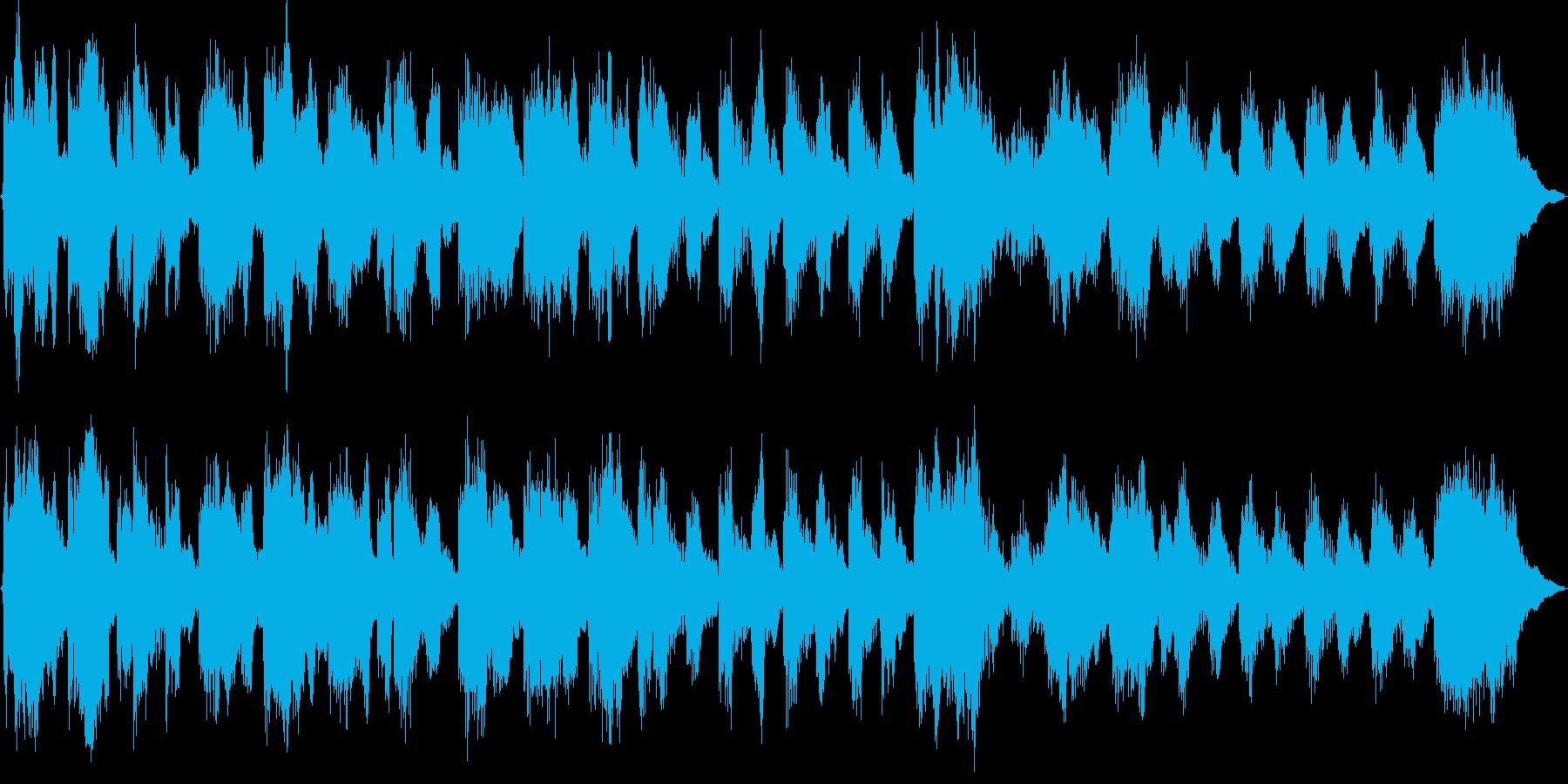 ポップなジングル(マーチ風)の再生済みの波形