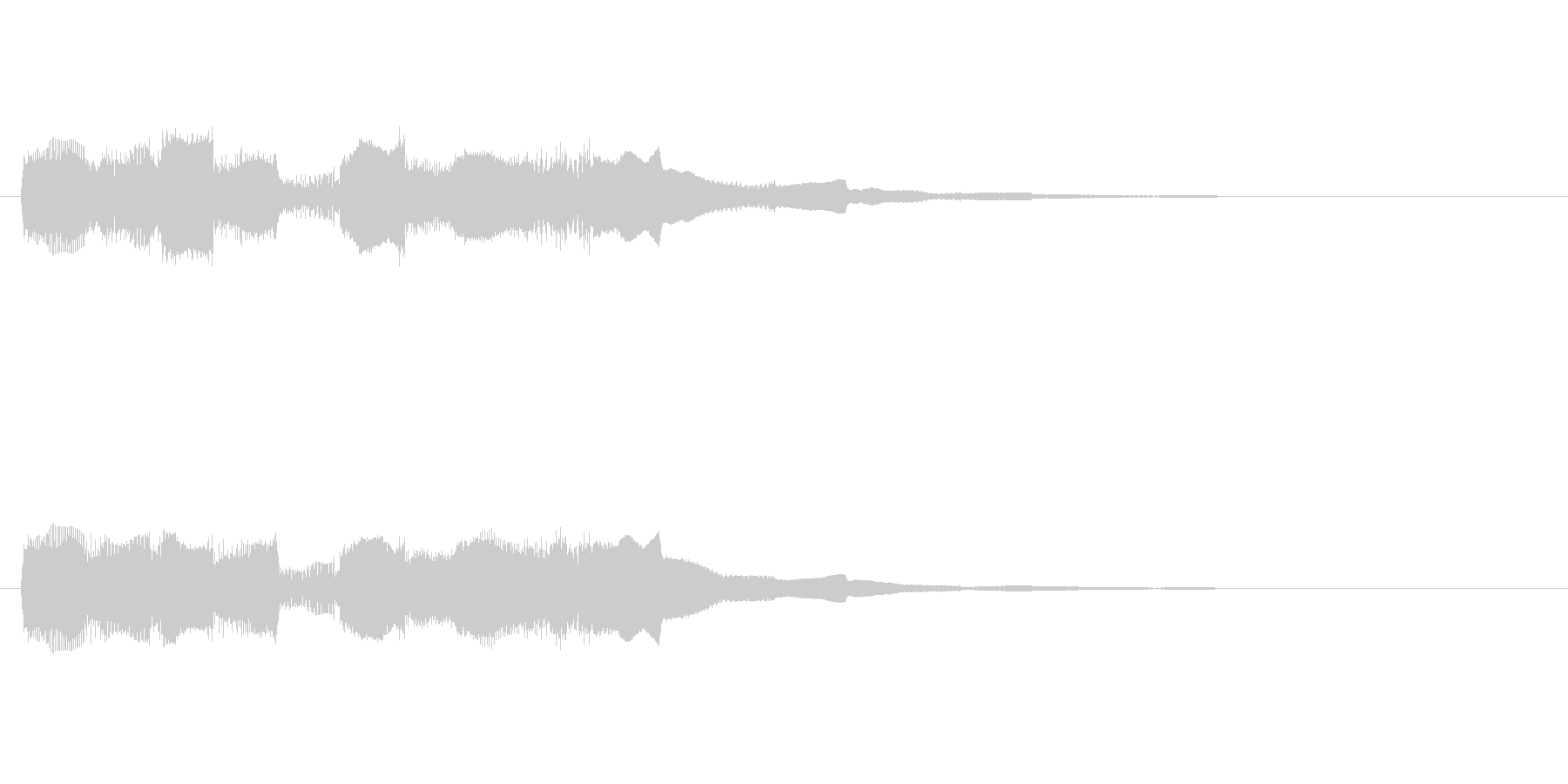 【フレーズ03-2】の未再生の波形