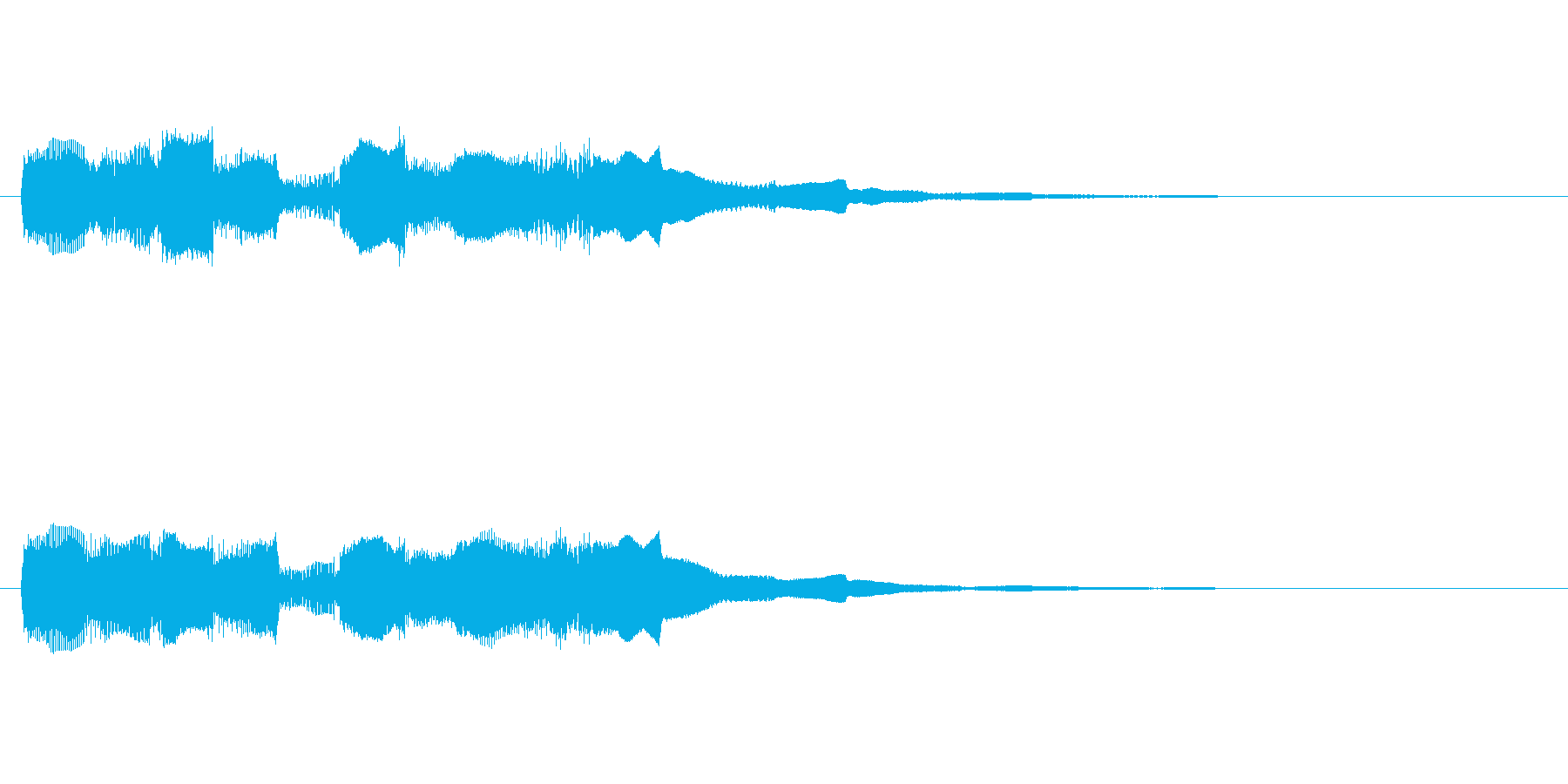【フレーズ03-2】の再生済みの波形