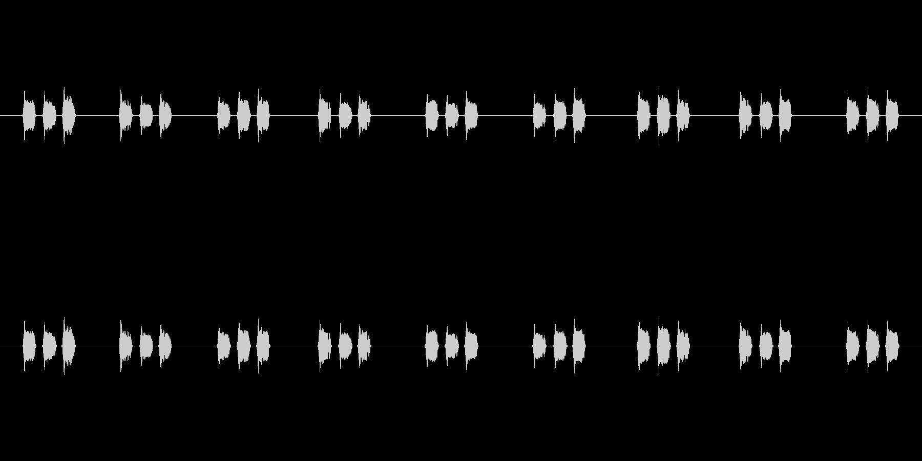 【慌てる02-4】の未再生の波形