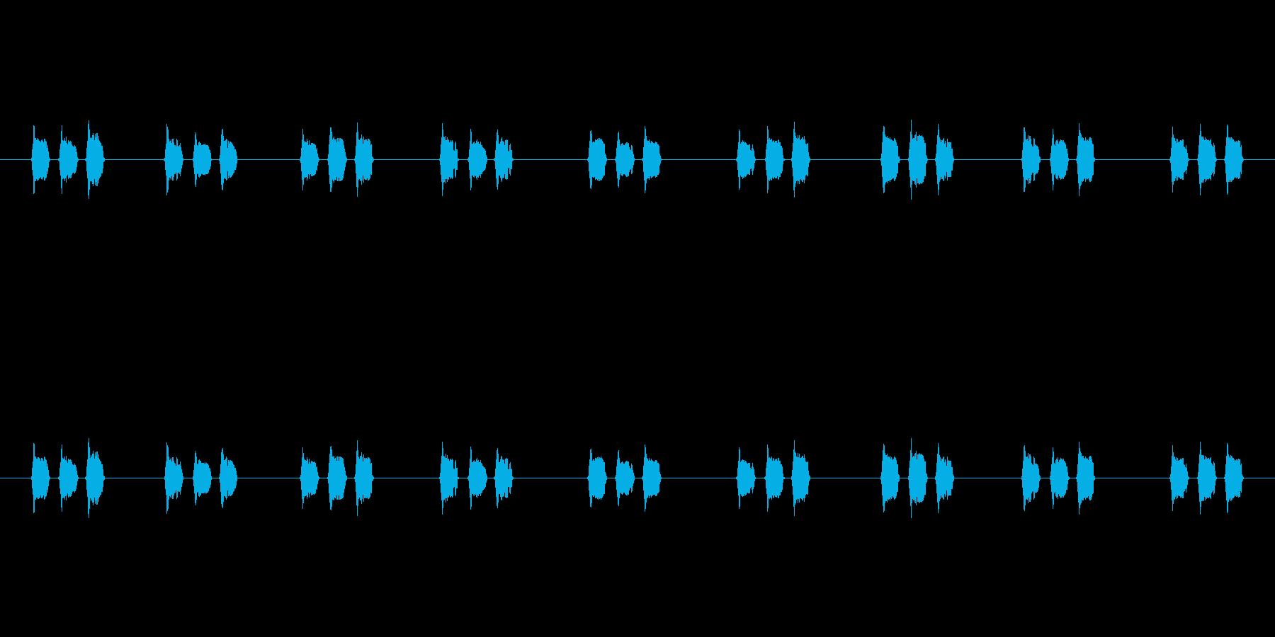 【慌てる02-4】の再生済みの波形