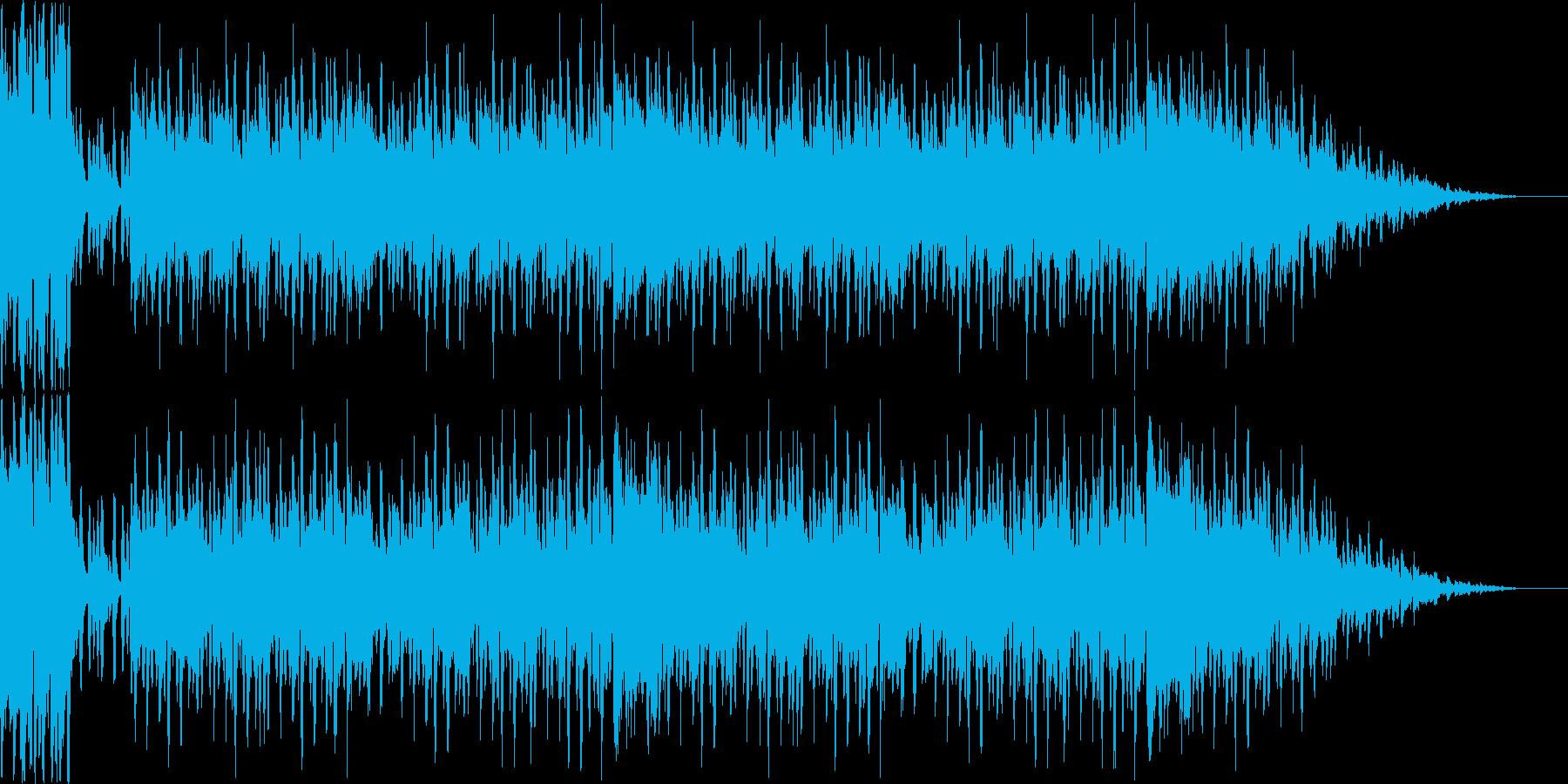 ゲームクリアのかわいいファンファーレの再生済みの波形
