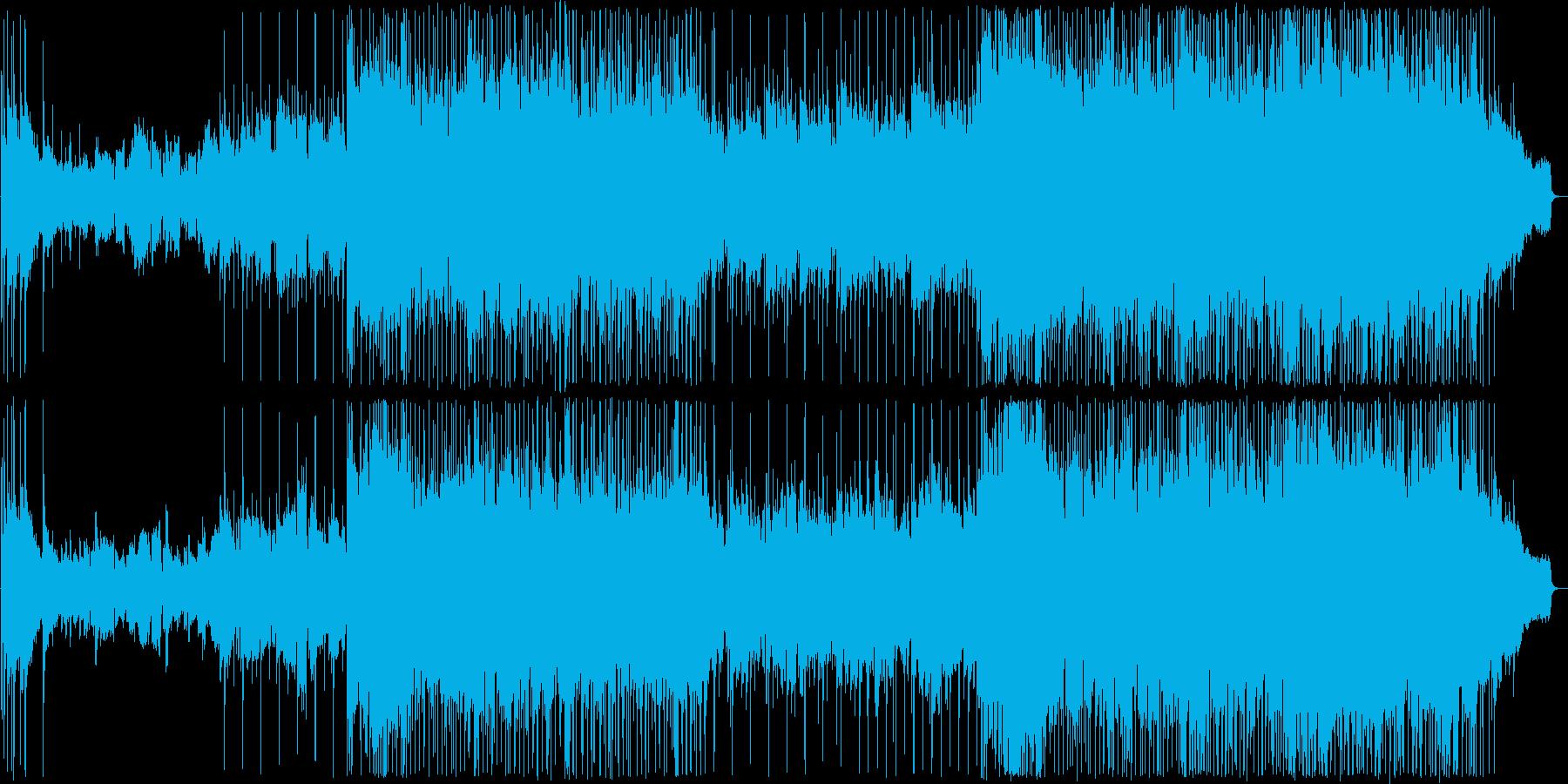 やさしい雰囲気に満たされたバラード2の再生済みの波形