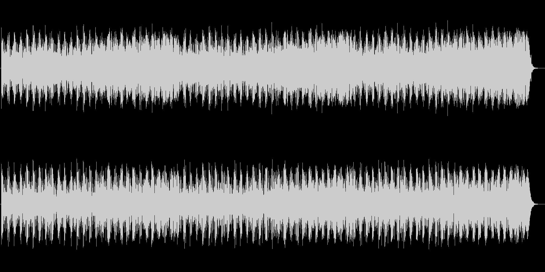幻想的で重みのあるミュージックの未再生の波形
