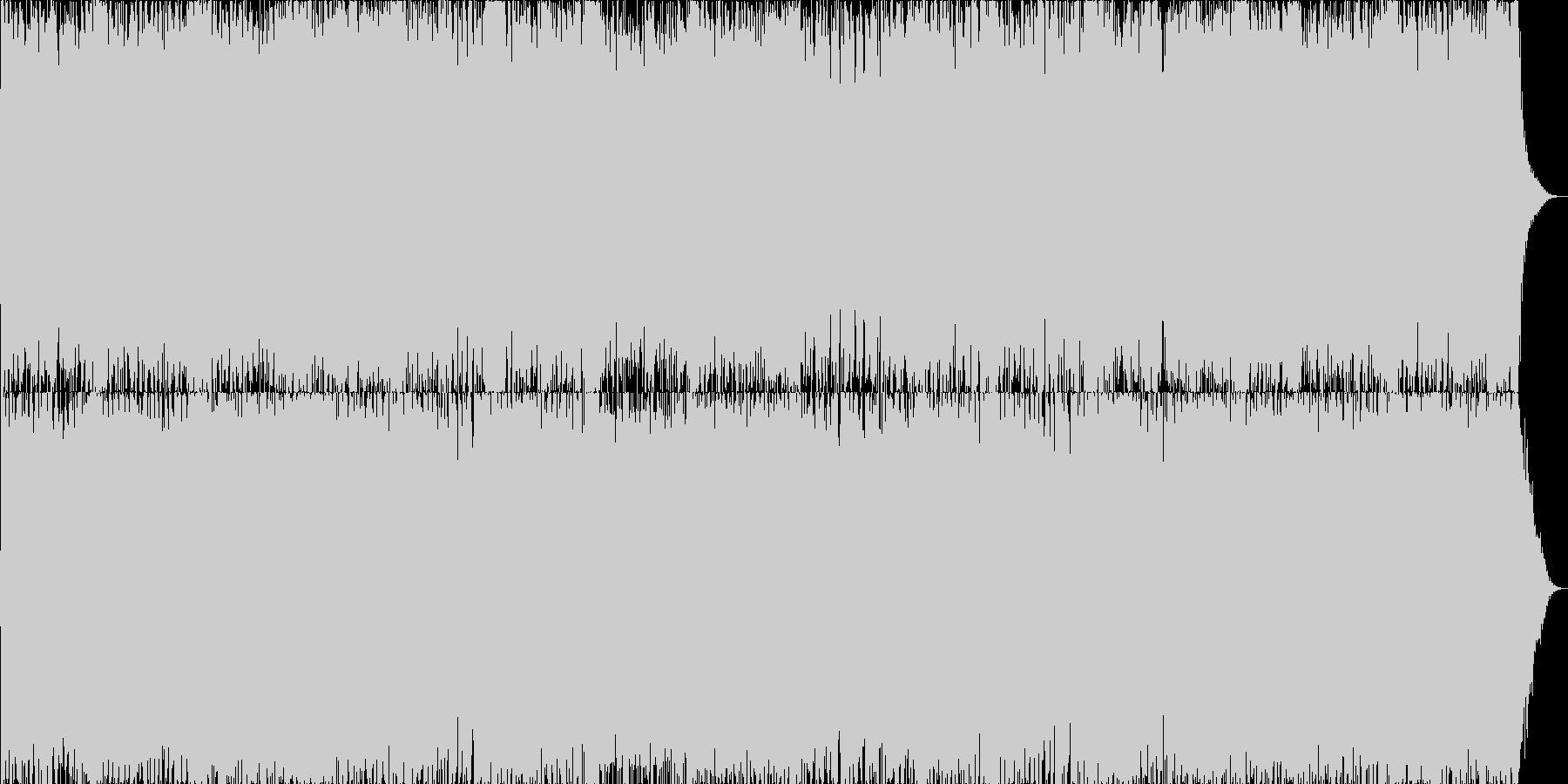 ダークファンタジーオーケストラ戦闘曲22の未再生の波形