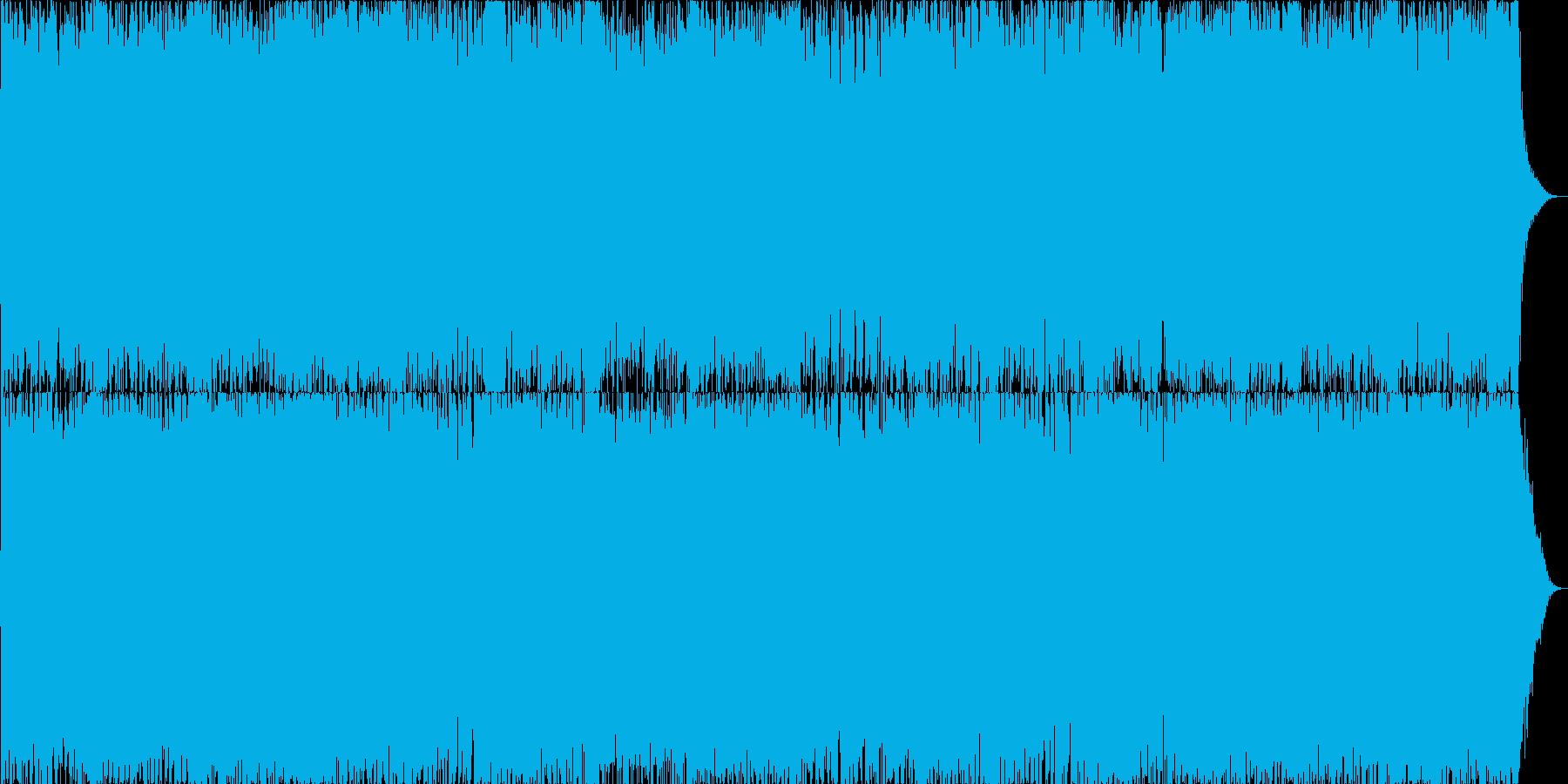 ダークファンタジーオーケストラ戦闘曲22の再生済みの波形