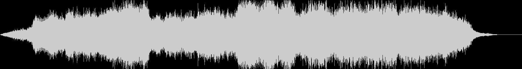 美しく魅惑的な重音の異次元/海底BGMの未再生の波形