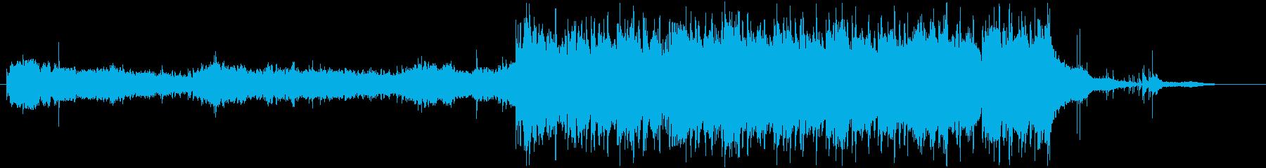 和風でファンタジックなepicBGMの再生済みの波形