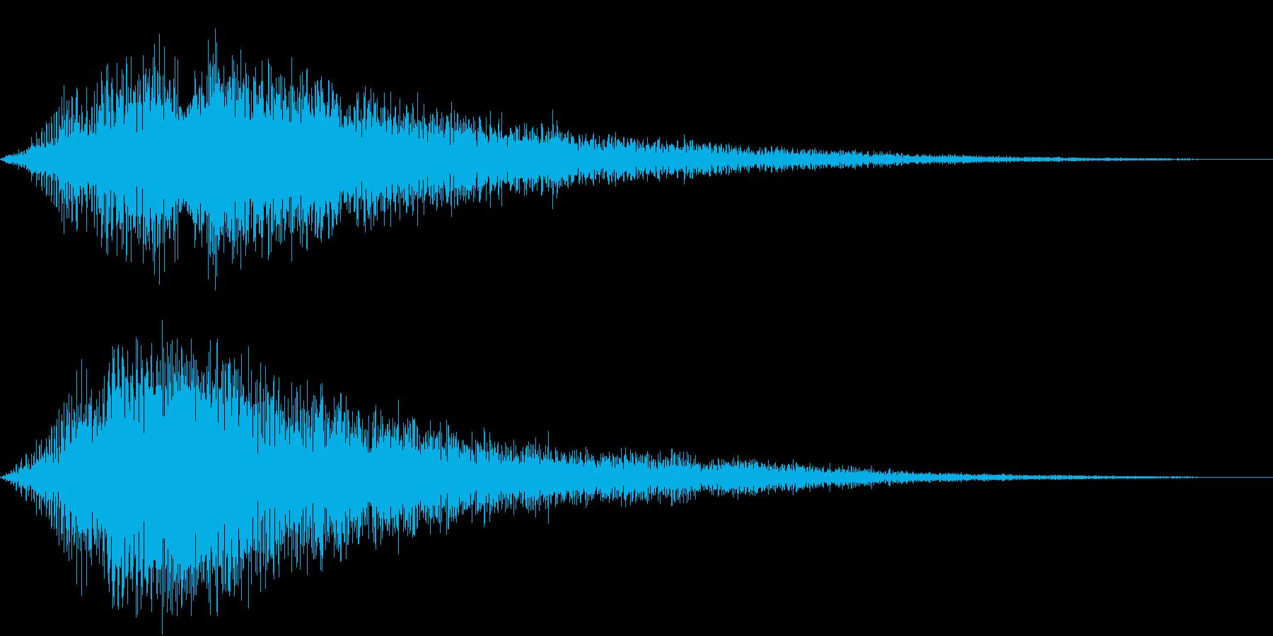VOX ダーティーなコーラスPAD 5の再生済みの波形