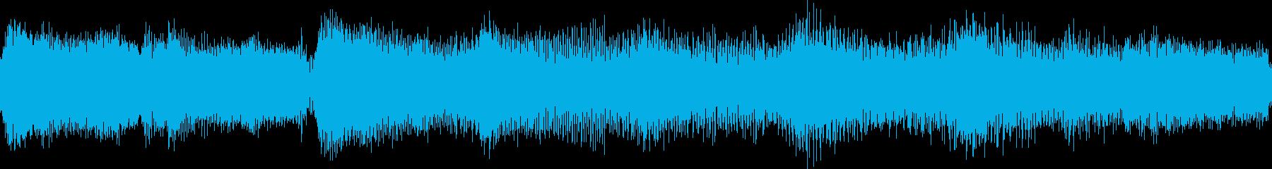 ゆったりとしたジャジーなジングル_ループの再生済みの波形