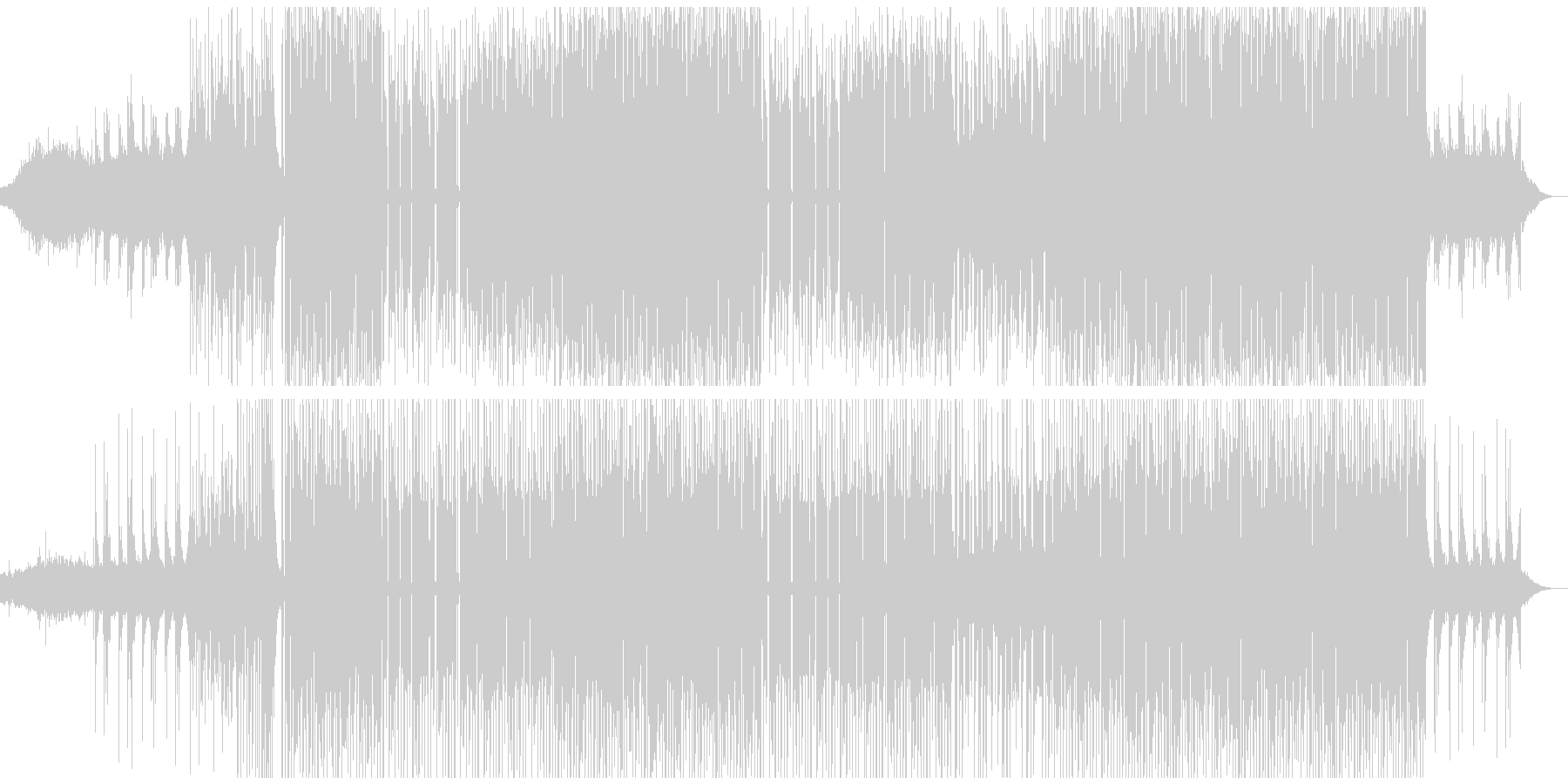 おしゃれで不思議なエレクトロダンスポップの未再生の波形