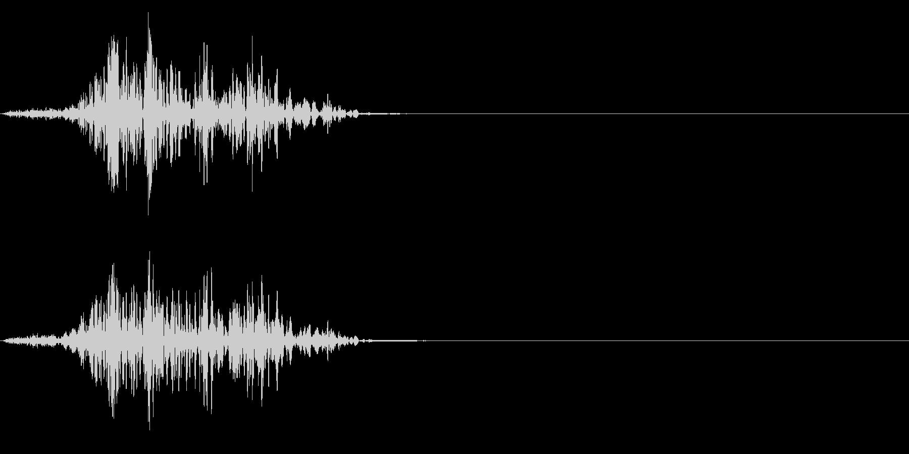 ゴボゴボ☆排水溝の音 その2の未再生の波形