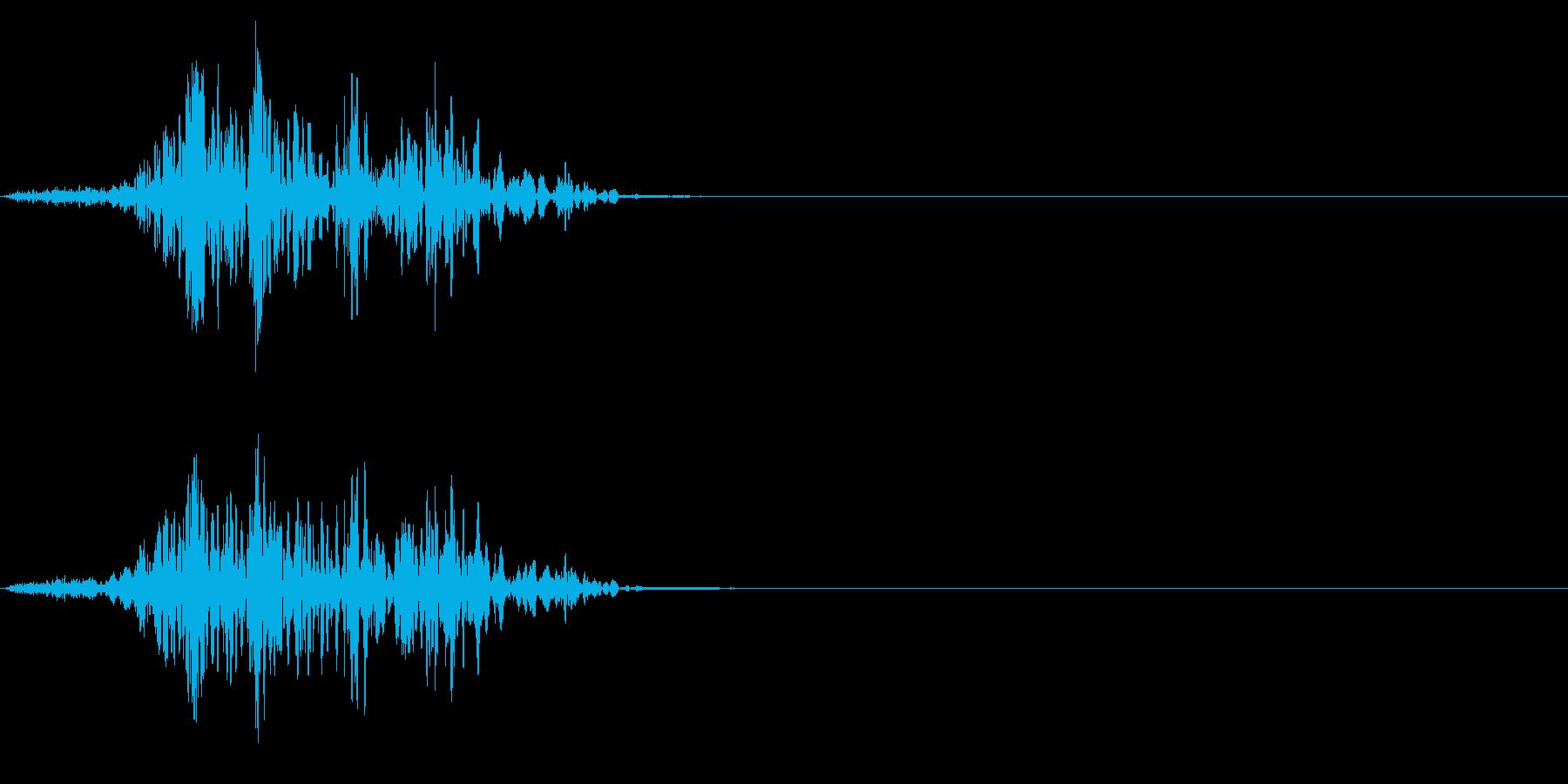 ゴボゴボ☆排水溝の音 その2の再生済みの波形