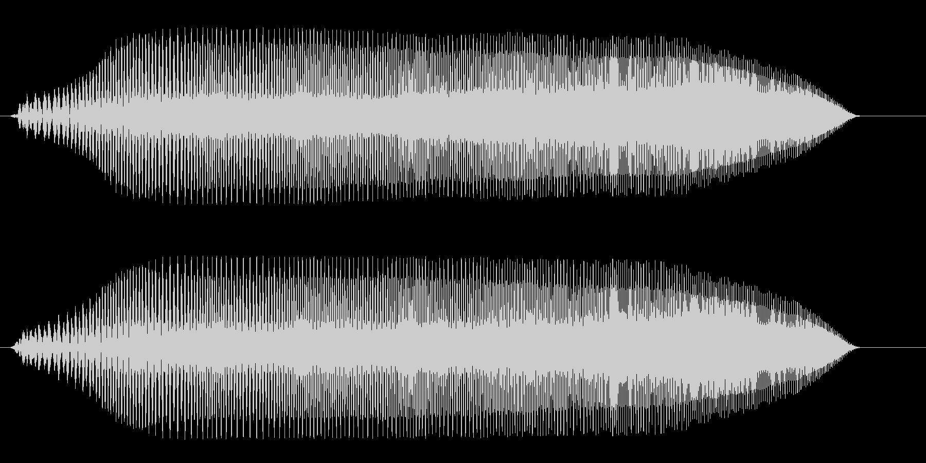 プヨプヨプヨ(成長)の未再生の波形