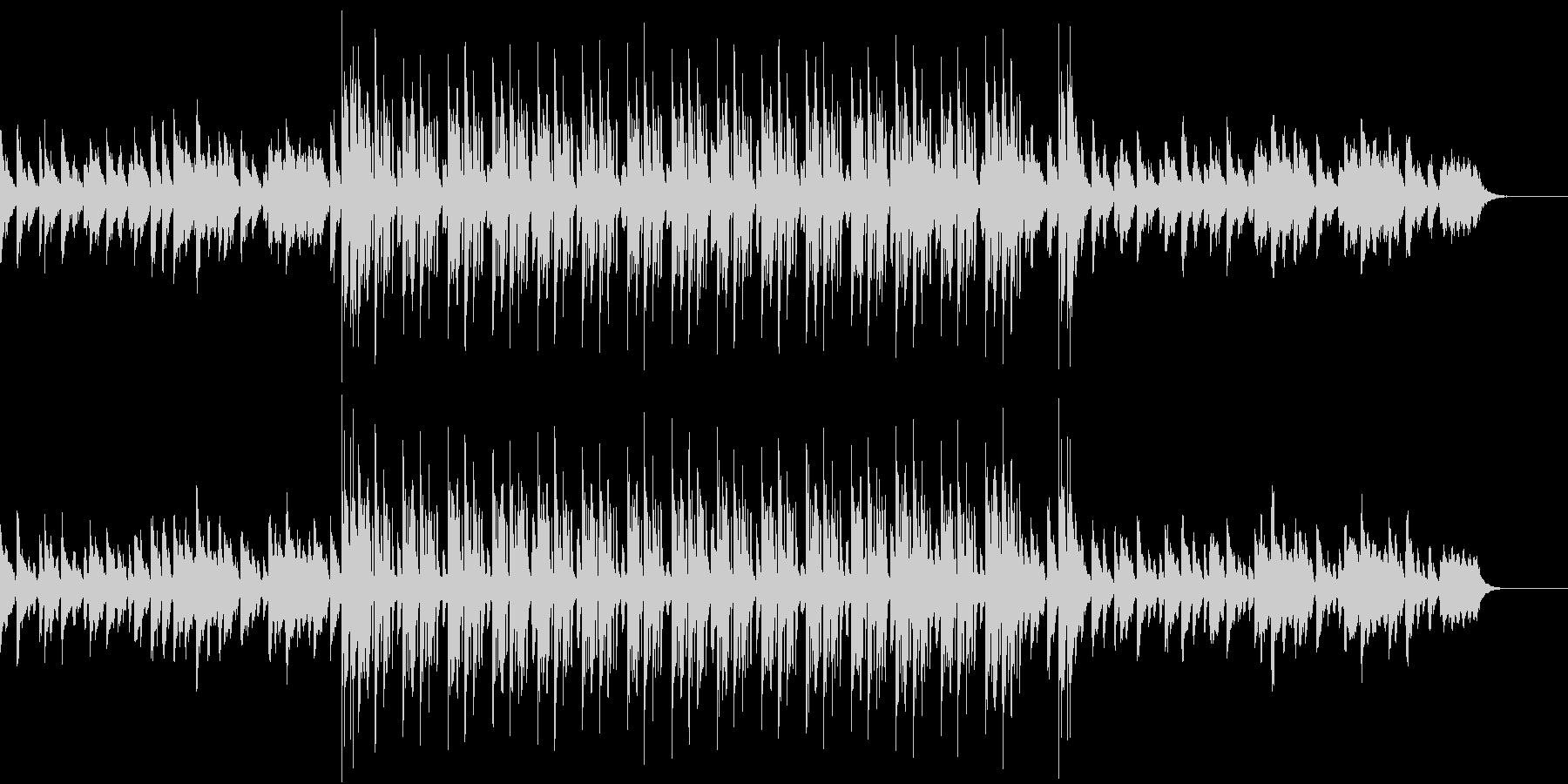 静かな音色の中にも訴えかける旋律のR&Bの未再生の波形