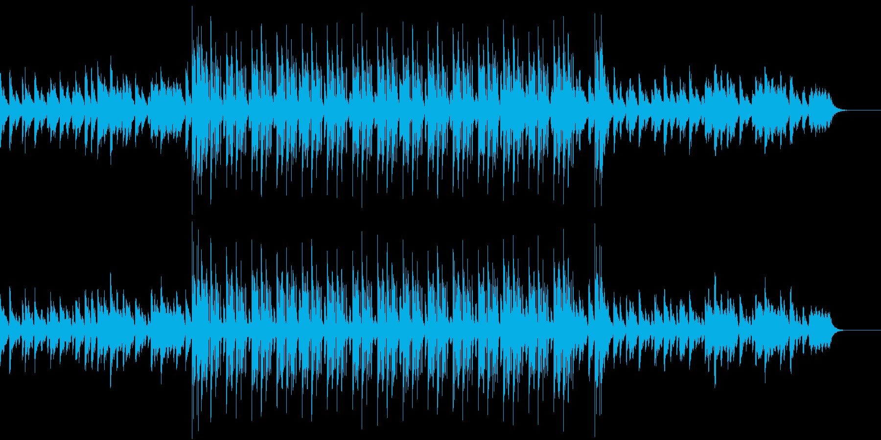 静かな音色の中にも訴えかける旋律のR&Bの再生済みの波形