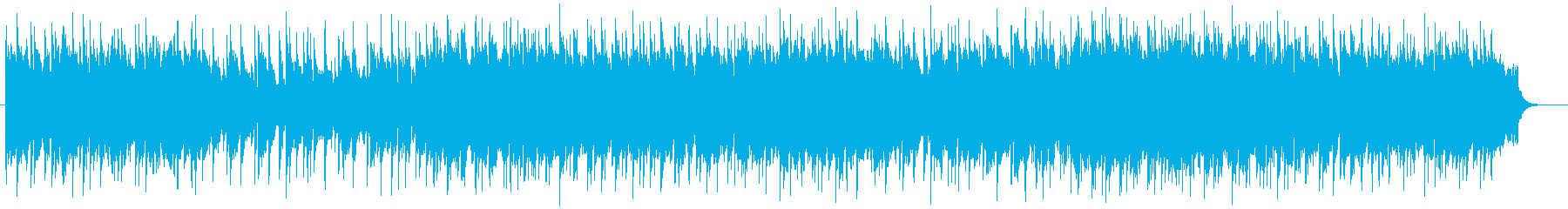 のどかな雰囲気のピアノシンセの再生済みの波形