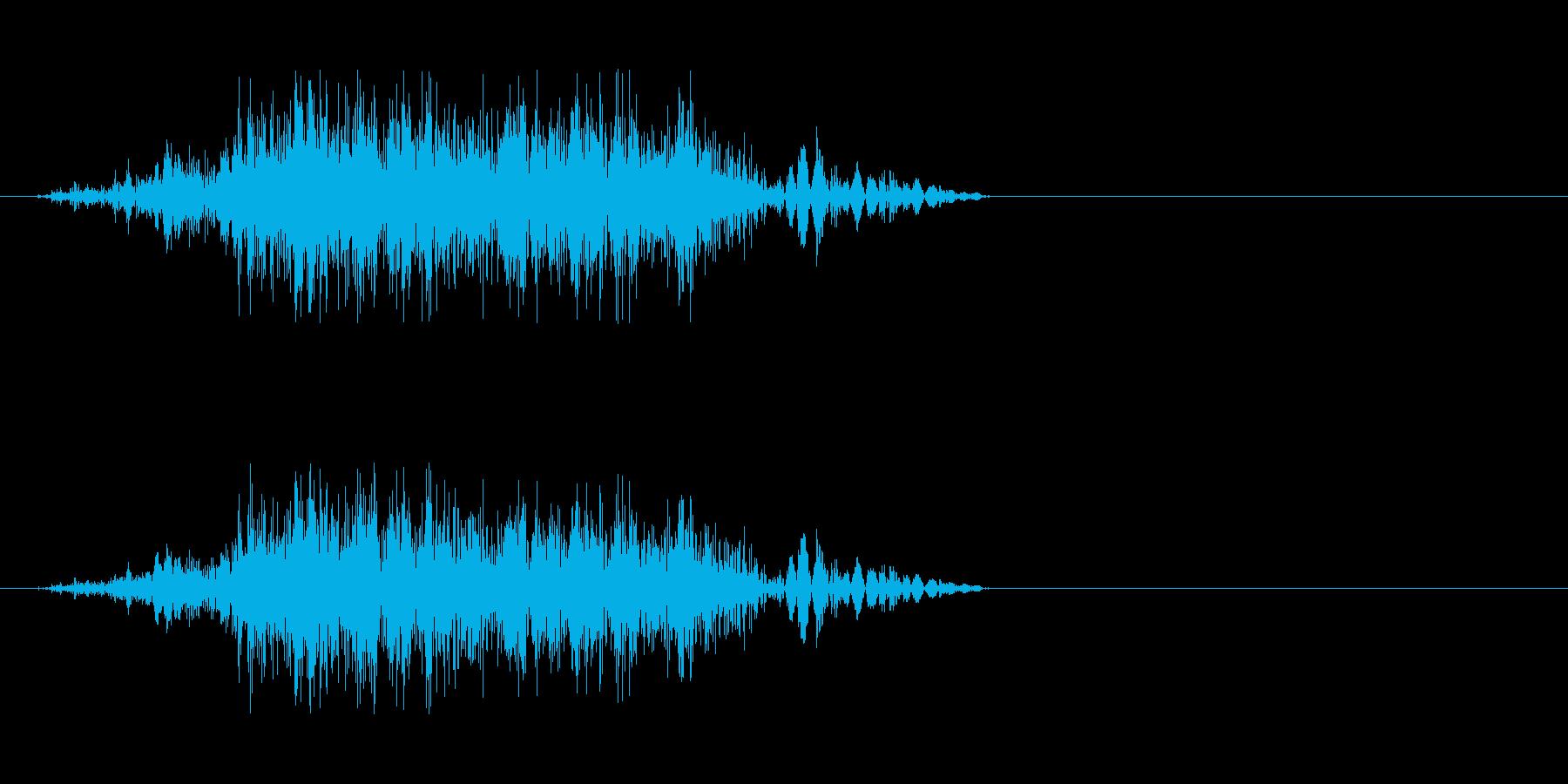 獣の息 3の再生済みの波形