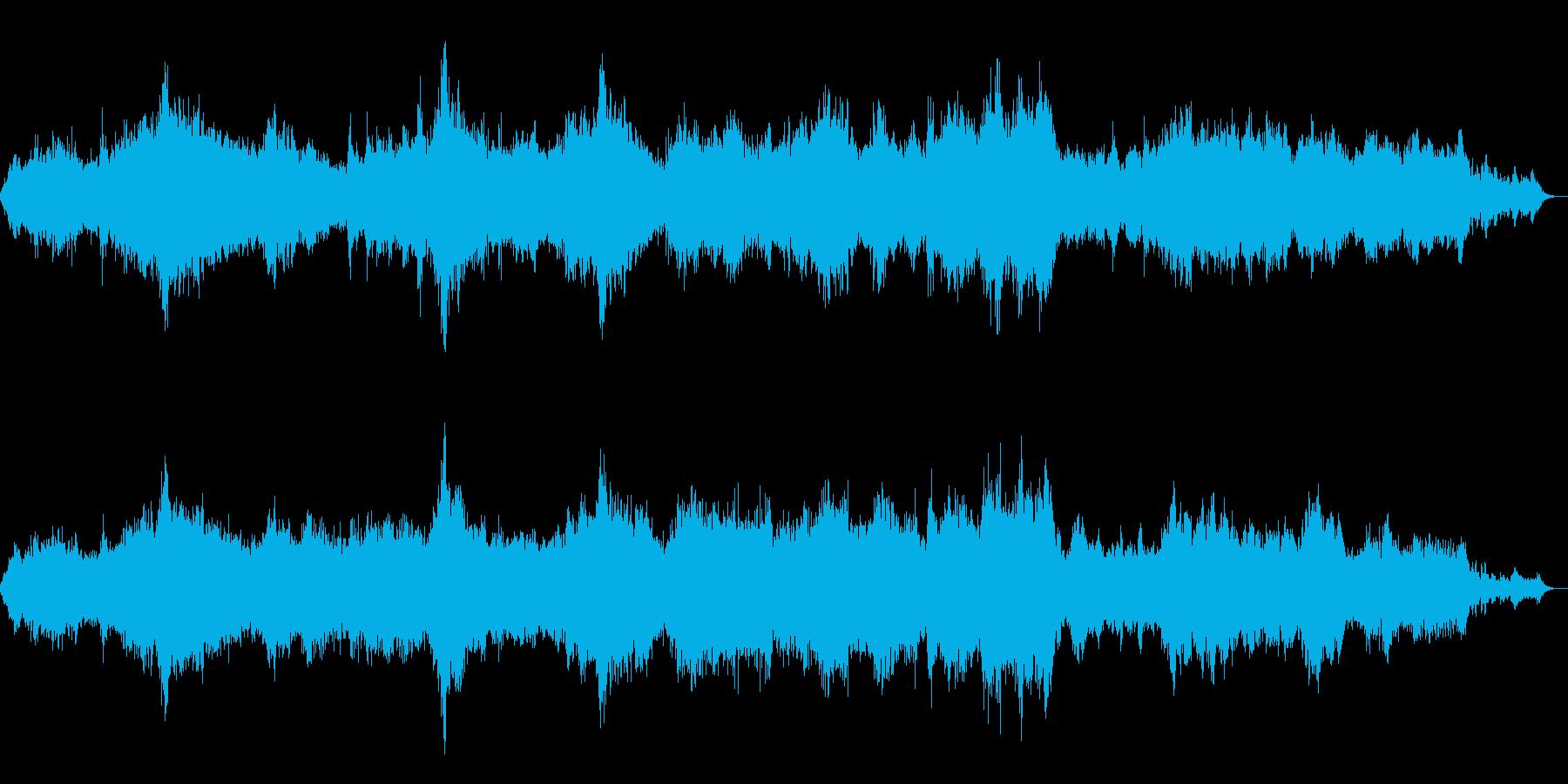 荘厳なコーラスが響くアンビエントの再生済みの波形