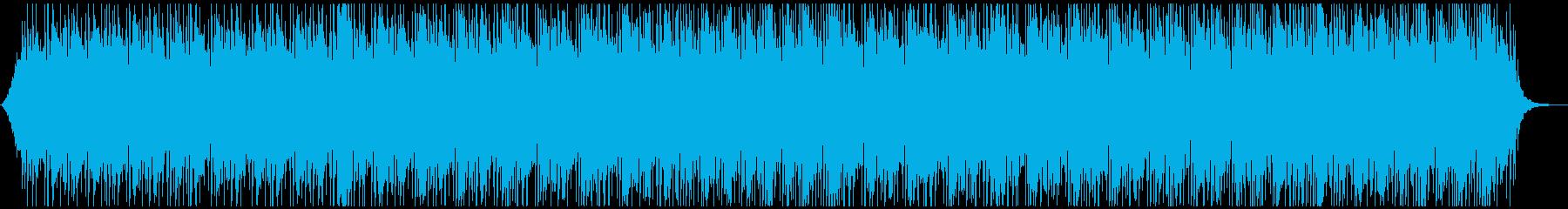爽やかオープニング映像に おしゃれ疾走感の再生済みの波形