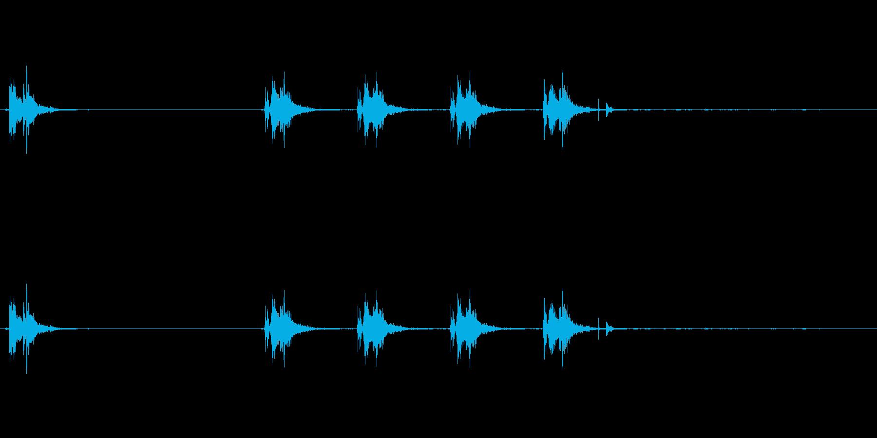 銃の音 (2)の再生済みの波形